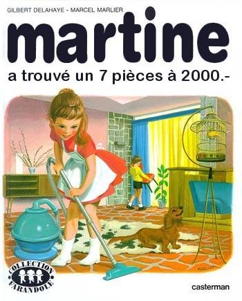Martine cherche un 7 pièces