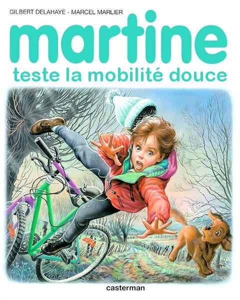 Martine teste la mobilité douce