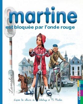 Martine n\'aime pas l\'onde rouge