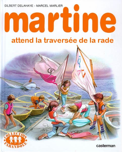 Martine attend la traversée de la rade