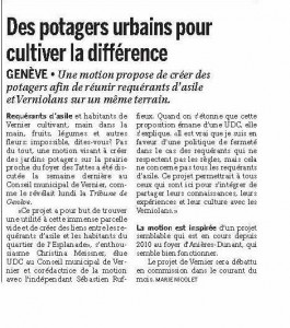 Le Courrier 26 avril 2013